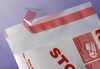 Adhäsionsklappenbeutel 220 x 300 + 30 mm transparent LDPE 70 my mit selbstklebender Klappe  1000 Stück