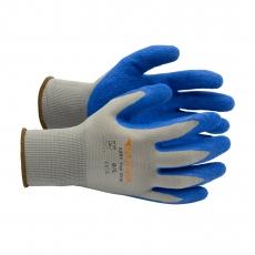 Supra 1201 Top Grip Arbeitshandschuhe Montagehandschuhe (Latex) blau / grau       12 Stück im Pack