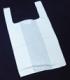 Hemdchentragetaschen MDPE  250+120x450 mm weiß, unbedruckt  16 my   1000 Stück