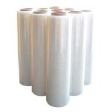 PE-Handstretchfolie 17 my transparent  500 mm breit 280 lfm   6 Rollen im Karton