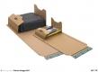 "Universal-Versandverpackung ""ECO"" braun B5 326 x 193 mm 20  Stück"