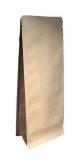Boxpouches Flachbodenbeutel Kraftpapier braun/dunkelbraun für verschiedene Füllmengen  1000 Stück