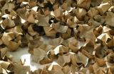 240 l Füllstoff Polsterchips PAPERFILL aus 100% Recyclingpapier naturbraun  240 l im Karton