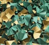 120 l Füllstoff Polsterchips DECOFILL aus 100% Recyclingpapier - schwarz -  120 l im Karton