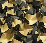 240 l Füllstoff Polsterchips DECOFILL aus 100% Recyclingpapier - schwarz -  240 l im Karton