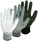 PU-beschichtete Feinstrick Handschuhe Pro-Fit  12 Paar im Pack
