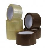 Klebeband PP transparent 50 mm x 66 lfm leise abrollend 36 Rollen im Karton