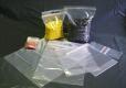 PP Druckverschlussbeutel 70*100 mm Standard 50 my mit Rundloch und PP-Zeichen in der Fahne  1000 Stück